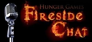 Hunger Games Fireside chat Logo