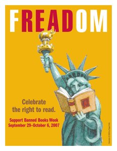 Freadom Banned Books Week