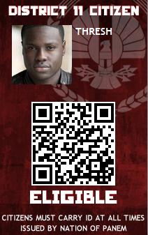 Panem October Identification Card Thresh