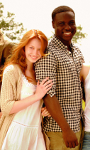 Jackie Emerson and Dayo Okeniyi