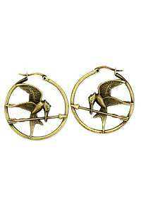 Hunger Games earrings