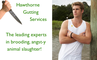 Gale Hawthorne The Hunger Games Hunting Snares