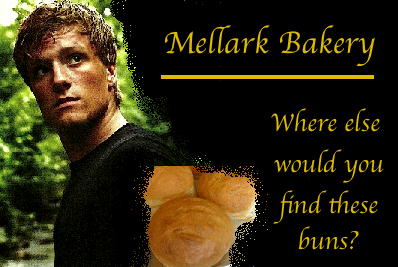 Peeta Mellark Bakery Buns The Hunger Games