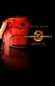 The Hunger Games Orange Backpack by Starberry-Cupcake