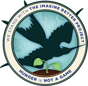 Hunger is Not a Game Website Badge
