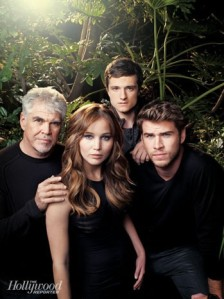 Gary Ross Jennifer Lawrence Josh Hutcherson Liam Hemsworth The Hunger Games