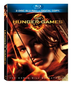 Hunger Games DVD on sale August 18