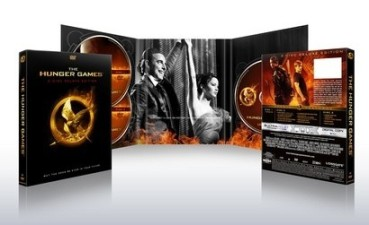 Hunger Games Special Edition DVD Target 3 Disc Special Features