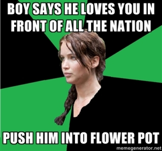Katniss Everdeen The Hunger Games meme