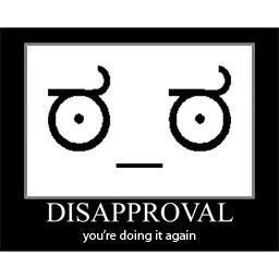 Disapproval meme