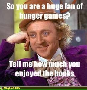Hunger Games fan Willa Wonka meme