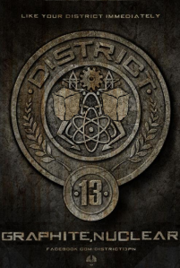 District 13 seal The Hunger Games