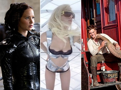 Francis Lawrence experience director collaboration The Hunger Games Lady Gaga Water for Elephants