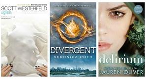 Delirium Lauren Oliver Divergent Veronica Roth The Uglies Scott Westerfeld