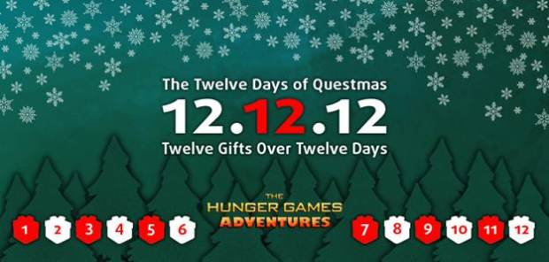 The Hunger Games 12 Days of Christmas Lionsgate 2012