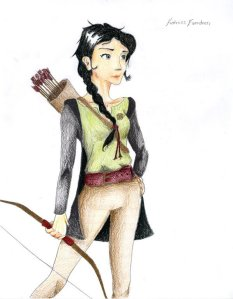 Katniss Everdeen by Shaefellar