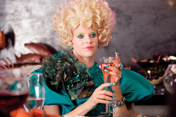 The Hunger Games is to Mean Girls as Effie Trinket is to Regina George