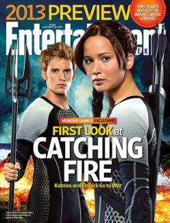 For some, this was their first glimpse of Sam as Finnick.