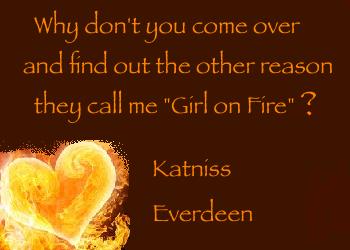 Katniss Everdeen Valentine