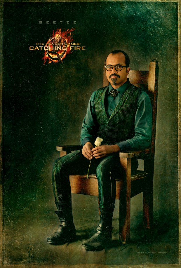 The Hunger Games Catching Fire Beetee Character Portrait