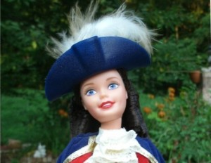 We hope historically inaccurate Patriot Barbie survives!