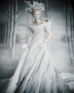 Tilda as the White Witch