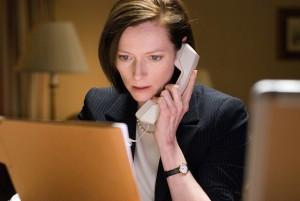 Tilda Swinton as Karen Crowder in Michael Clayton