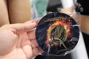 The ever elusive Catching Fire mockingjay pin