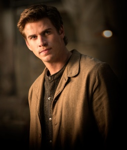 Liam Hemsworth Gale Hawthrone The hunger Games Catching Fire