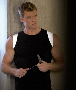 Alan Ritchson Gloss The Hunger Games Catching Fire