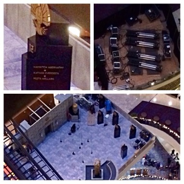 Mockingjay Capitol rescue set The Hunger Games