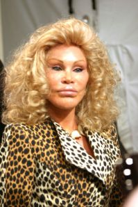 Jocelyn Wildenstein, a real world Tigris? (Astrid Stawiarz/Getty)