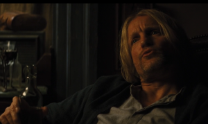 Drinking games are ok, but DO NOT not challenge Haymitch to a drinking contest. Book Haymitch at least.