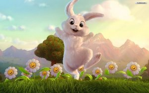 happy_easter_bunny_wallpaper