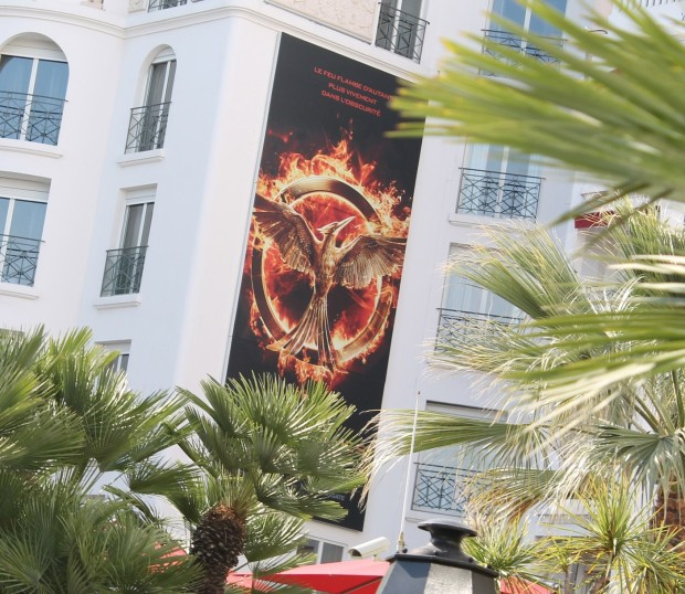 Actual evidence of Mockingjay Part 1 at Cannes!