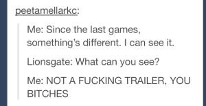 Not a trailer