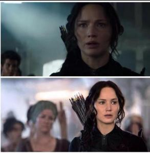 Please show us Katniss in a couple other scenes.