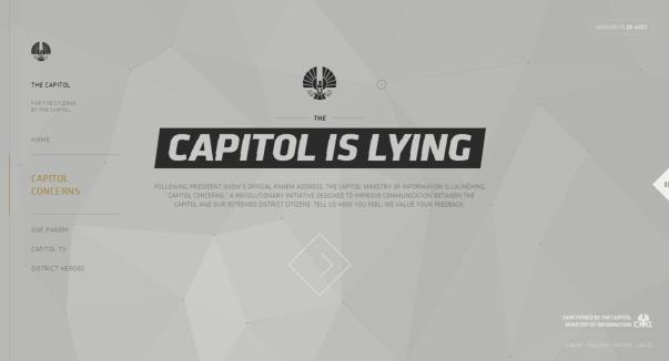 The Capitol is Lying