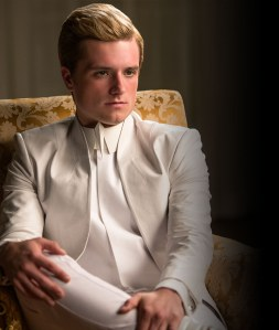 We're sad because there was no Annie picture, but here's Peeta. Let's cry.