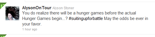 Alyson Stoner tweets battle