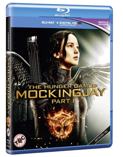 mockingjay part one blu-ray