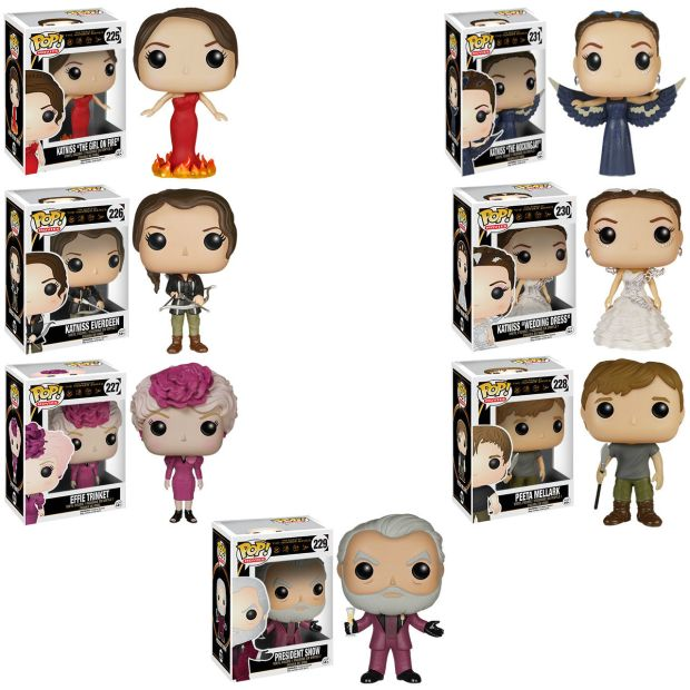 funko pop hunger games