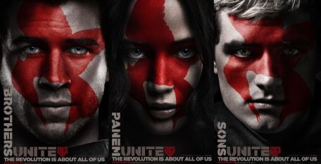 Faces of the Revolution Posters - Winner will win Gale, Peeta or Katniss