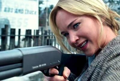 Tough lady wields a shotgun trope!
