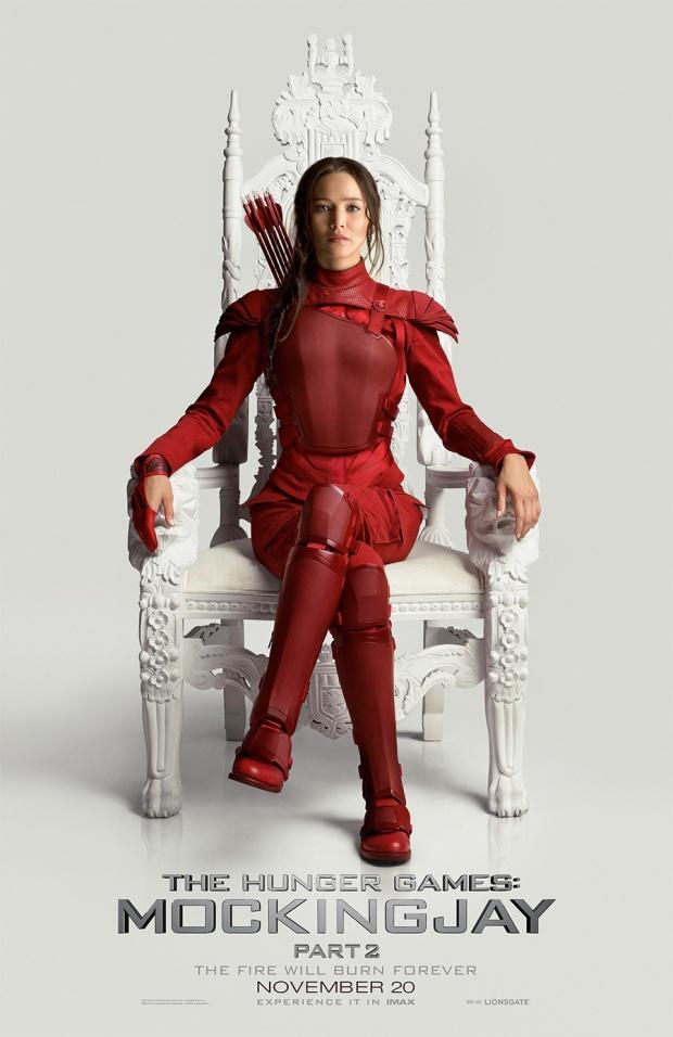 mockingjay part 2 poster throne