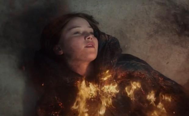 burned katniss
