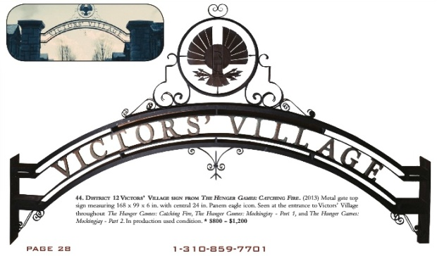 victors village sign